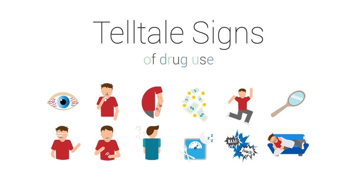 drug addiction signs