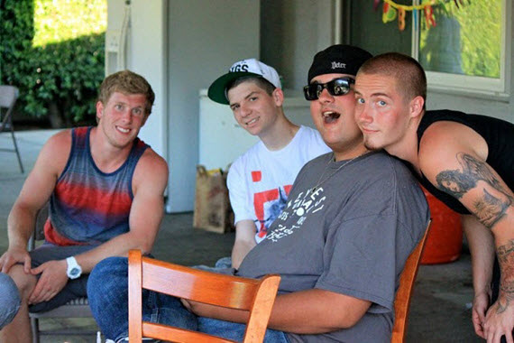 Young Men Who Previously Used Sober College's Addiction Intervention Services