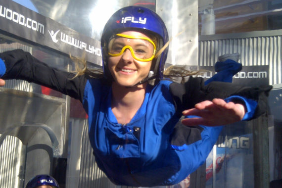 Indoor Skydiving is Part of Life Skills Training