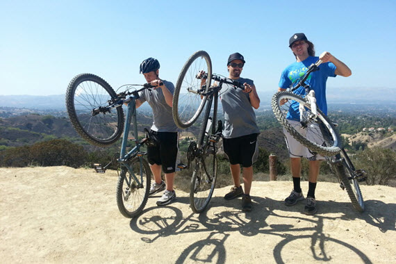 Bike Riding is Just a Small Part of Our Rehab for Men