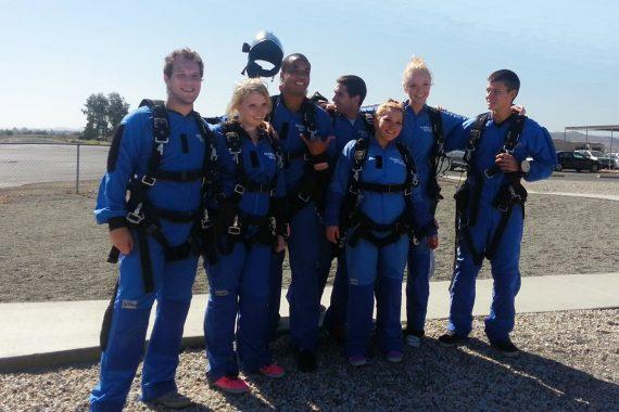 Skydiving as Part of Teen Drug Rehab