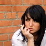 women quitting smoking