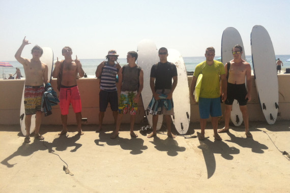 Young Men on Boardwalk During Intensive Outpatient Program