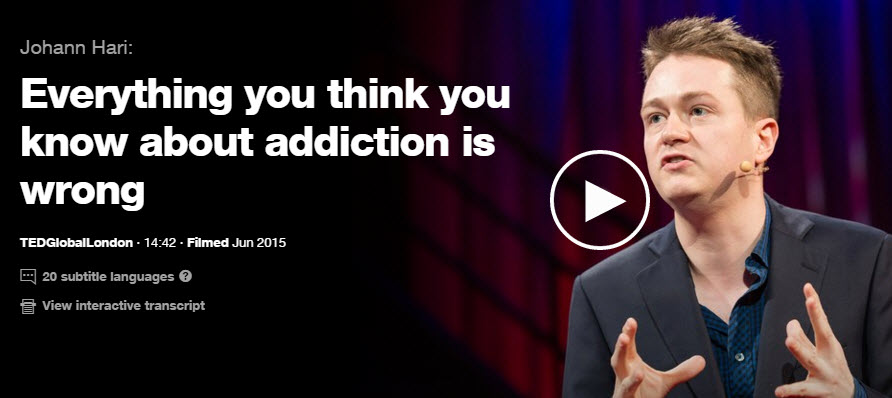 Johann hari ted-talk addiction