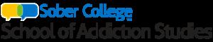 sober college school of addiction studies logo