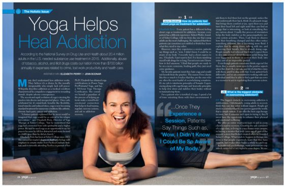 yoga helps heal addiction