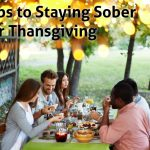 tips for staying sober over thanksgiving