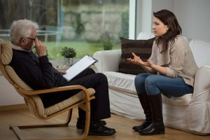 Young Woman Benefitting from Addiction Counseling