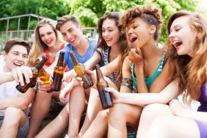 Teens Abusing Alcohol