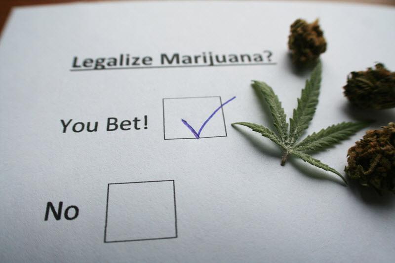 legalization of marijuana in california