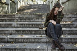 Young Woman Who Embodies the Drug Abuse Definition