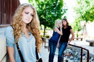 Woman Falling Victim to Peer Pressure on College Campuses