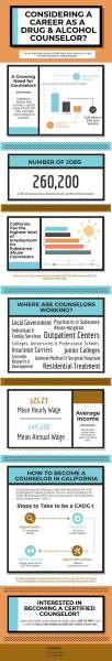Considering Becoming a Certified Counselor Infographic